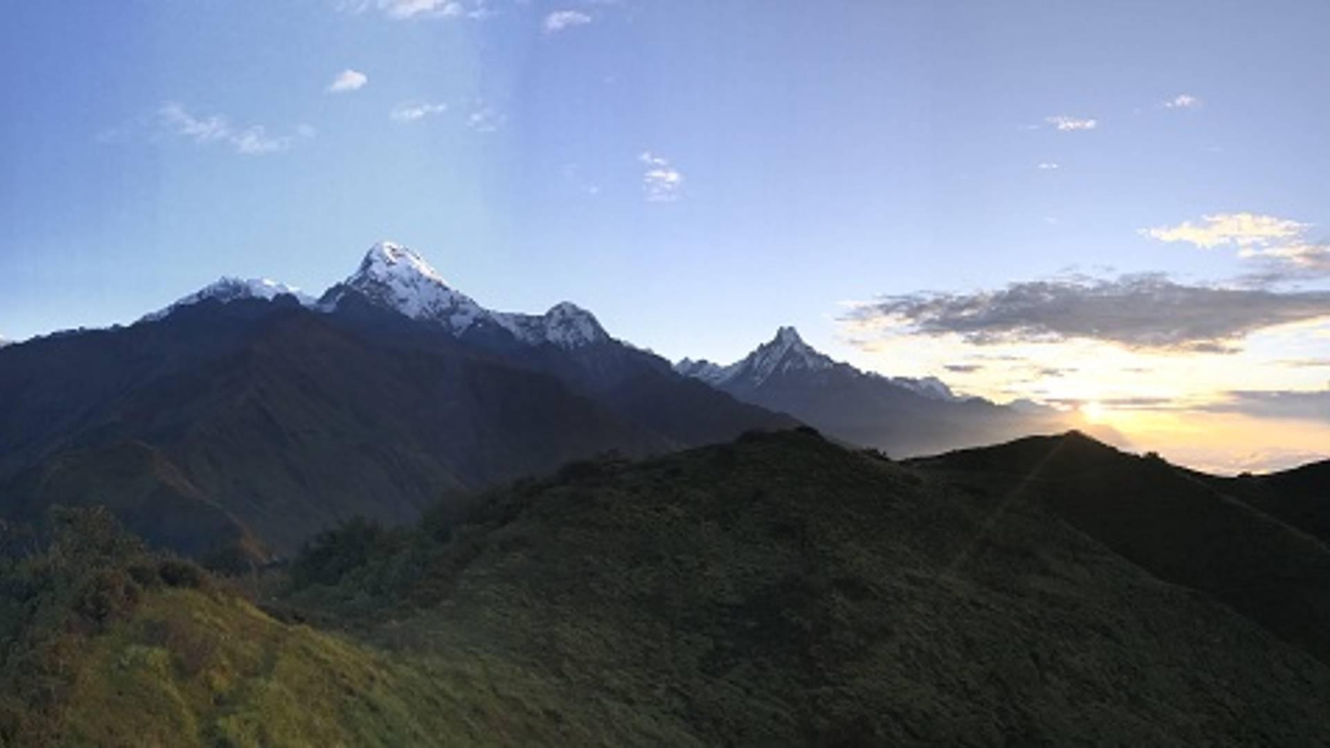 Le trek de Kopra, les Annapurna accessibles