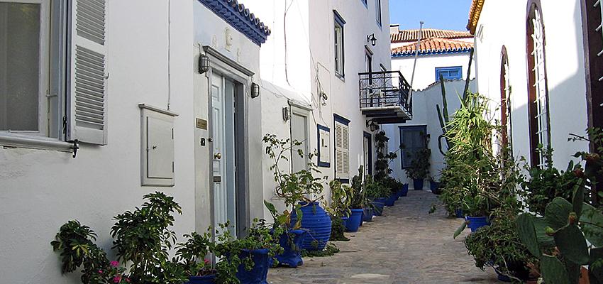 Calles de Hidra, Grecia