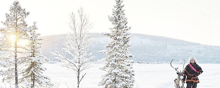 Escapade romantique au coeur de la Laponie
