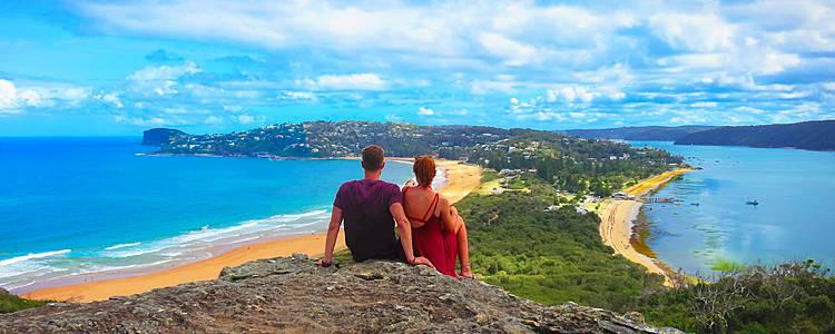 La magia australiana in luna di miele