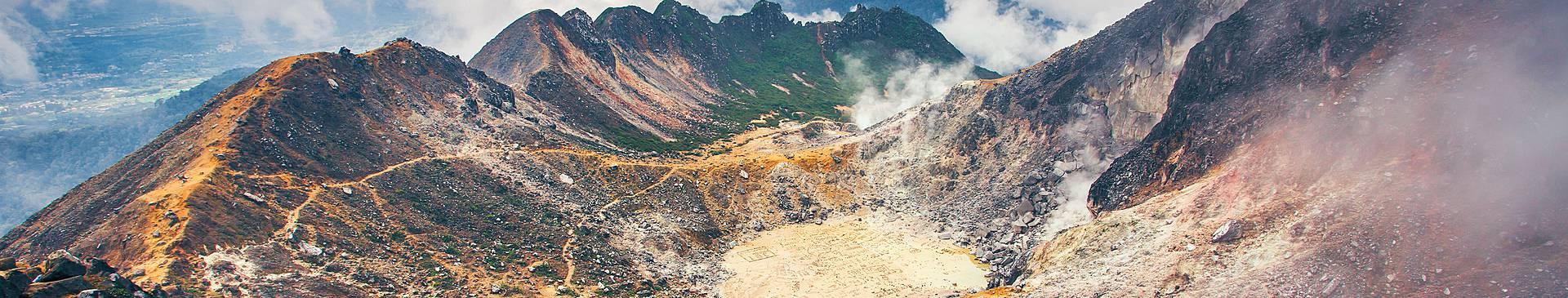 Bergurlaub Indonesien