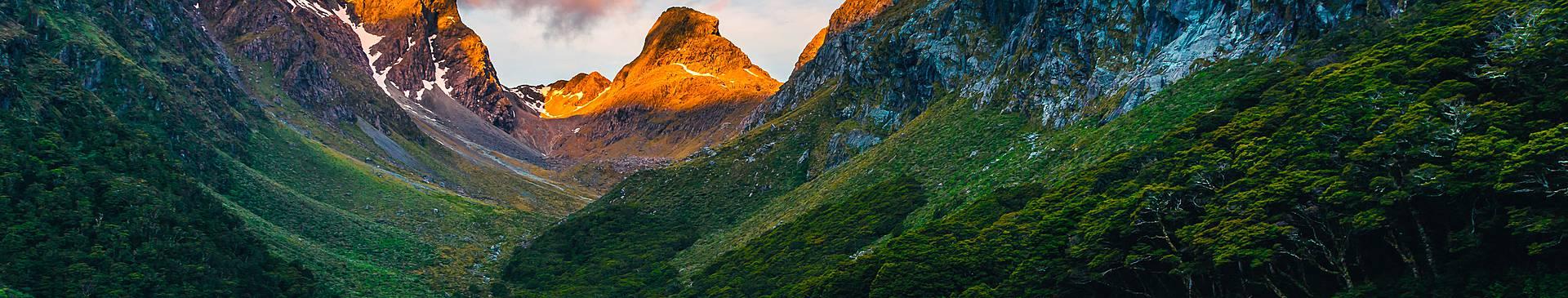 Bergurlaub Neuseeland
