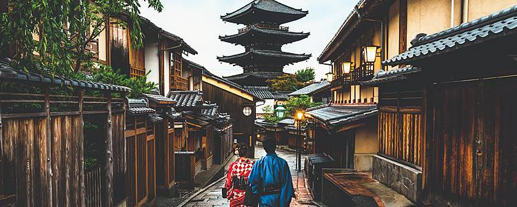 Kioto y Tokyo: un romántico viaje en pareja
