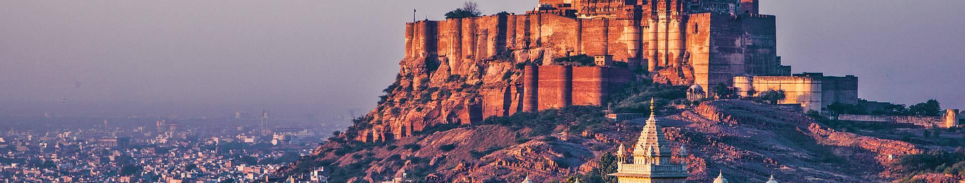 Städtereise Indien