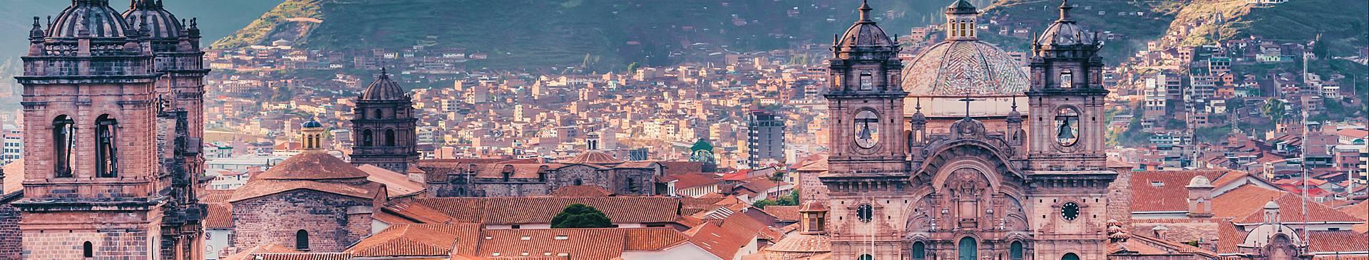Stadt Peru Reisen