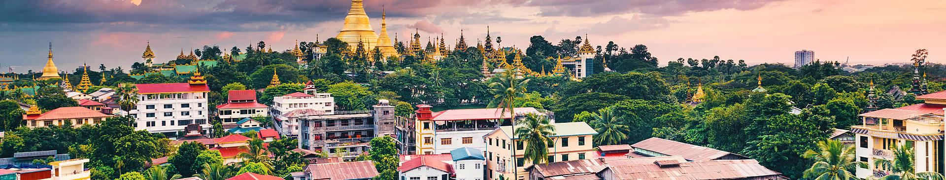 Städtereise Myanmar