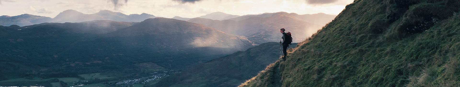 Trekking en Escocia