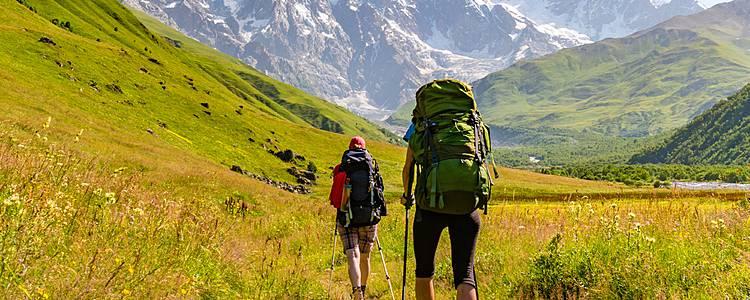 Trekking nelle montagne del Caucaso