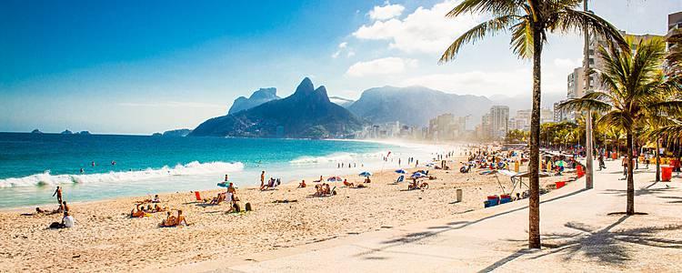 Lo mejor de la Patagonia y playas de Brasil