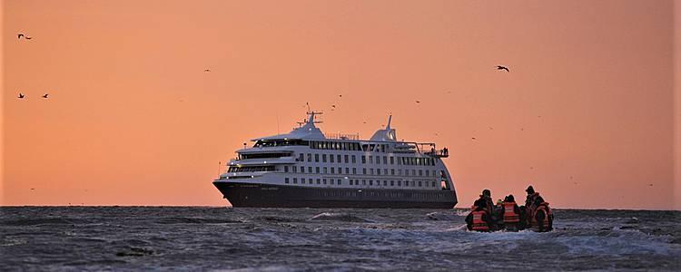 Expedición por la Patagonia con crucero Australis