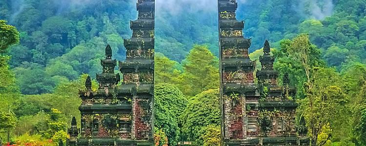 Templos, arrozales y playas balinesas