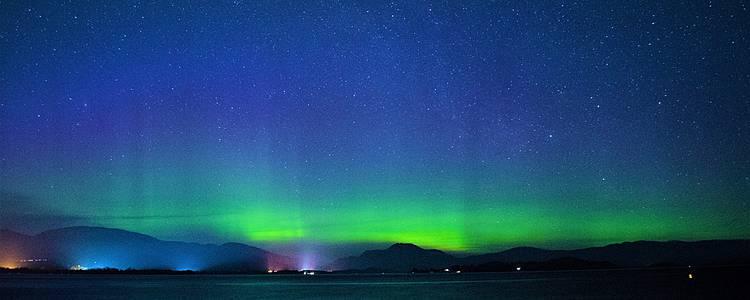 Especial invierno: Conduce hasta las Auroras Boreales