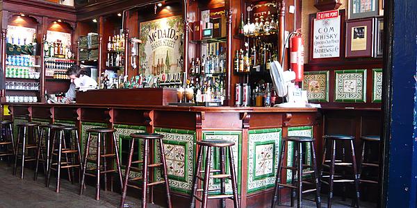 Un pub de Dublín