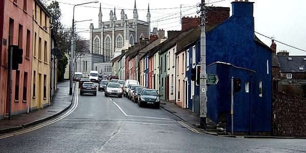 Une rue de Cork