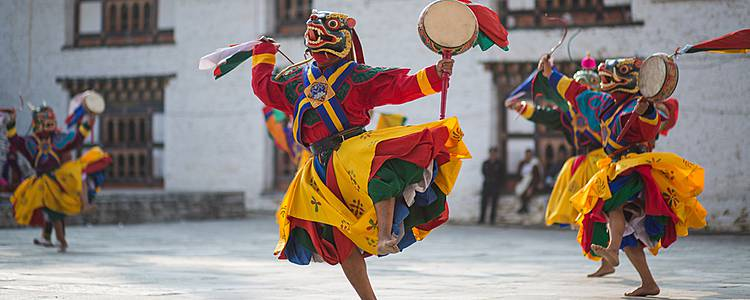Discovery trip with Bhutanese festival