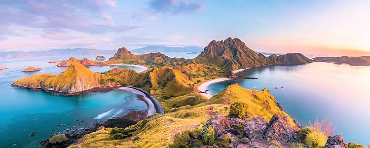Borneo, Volcanes de Java, Komodo y Nusa Penida