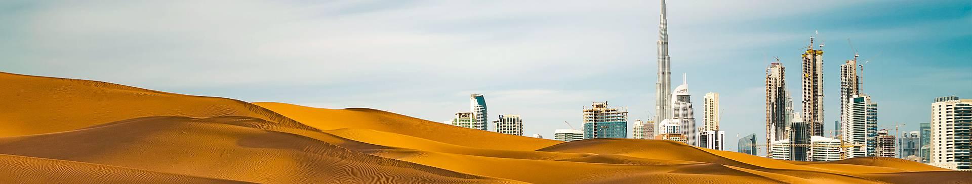 Viaggi nel deserto a Dubai