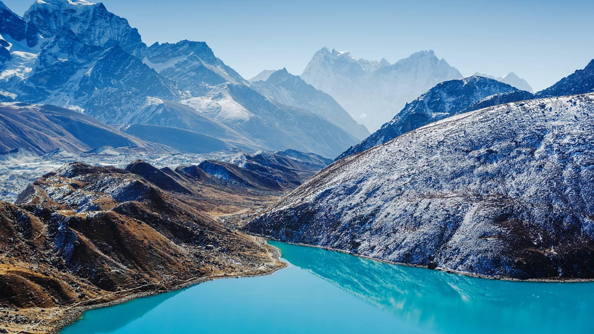 Everest-Triangel - Zwischen Seen und Bergen