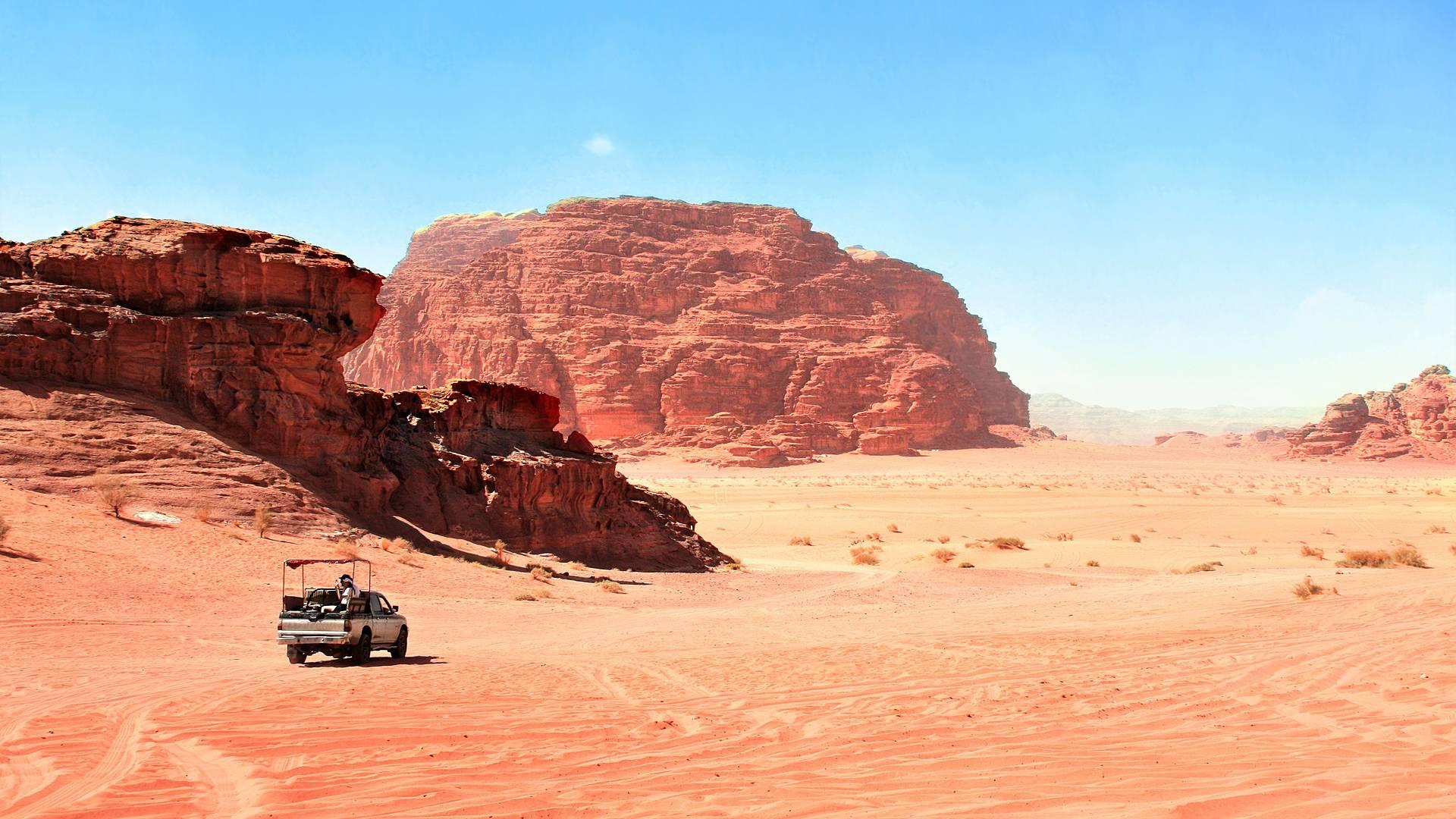 Leyendas de Jordania y desierto