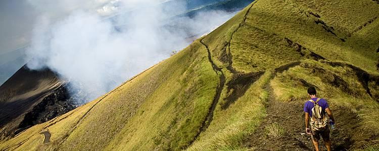 Ein Trekkingabenteuer im Land der Vulkane
