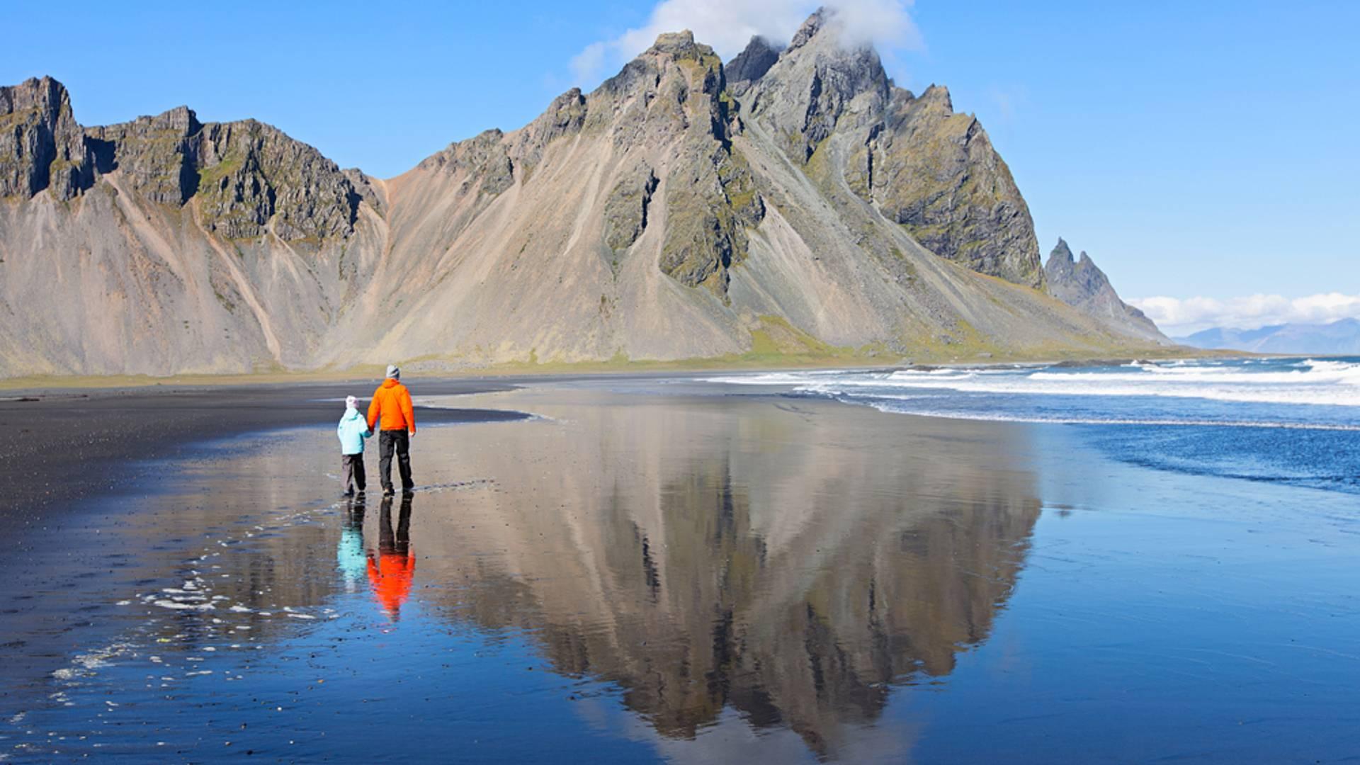 Familienabenteuer entlang der arktischen Küste