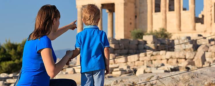 Atene in famiglia