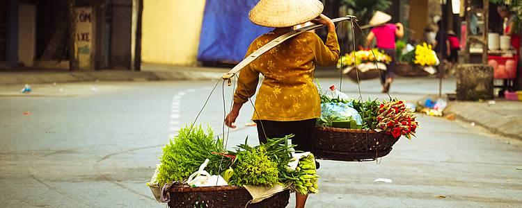 Icons of Hanoi and Ho Chi Minh