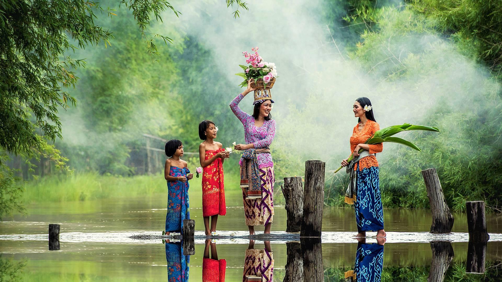 Cultura balinesa en familia hasta la Isla Nusa Lembongan