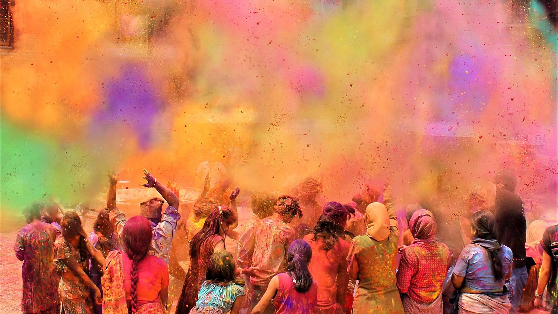 Vive la fiesta más colorida del mundo