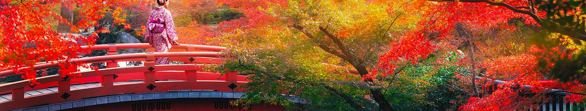 Viajes a Japón en otoño