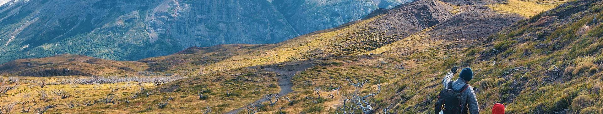 Trekking in Cile