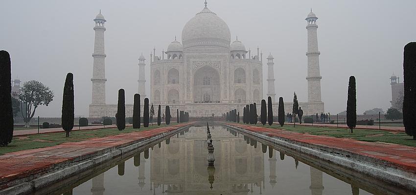 Le Taj Mahal le site le plus cher d'Inde