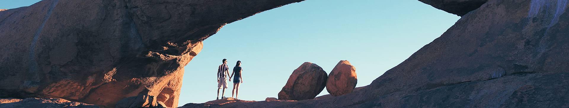 Romantic getaways in Namibia