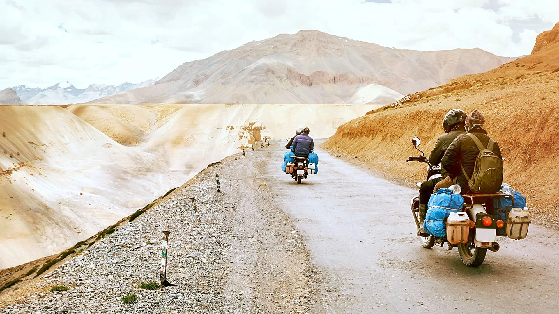 Viaggio in moto a Ladakh attraverso Himalaya e Punjab