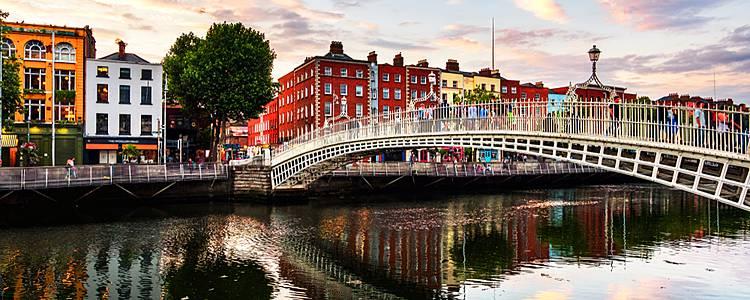 Dublin and Irelands countryside