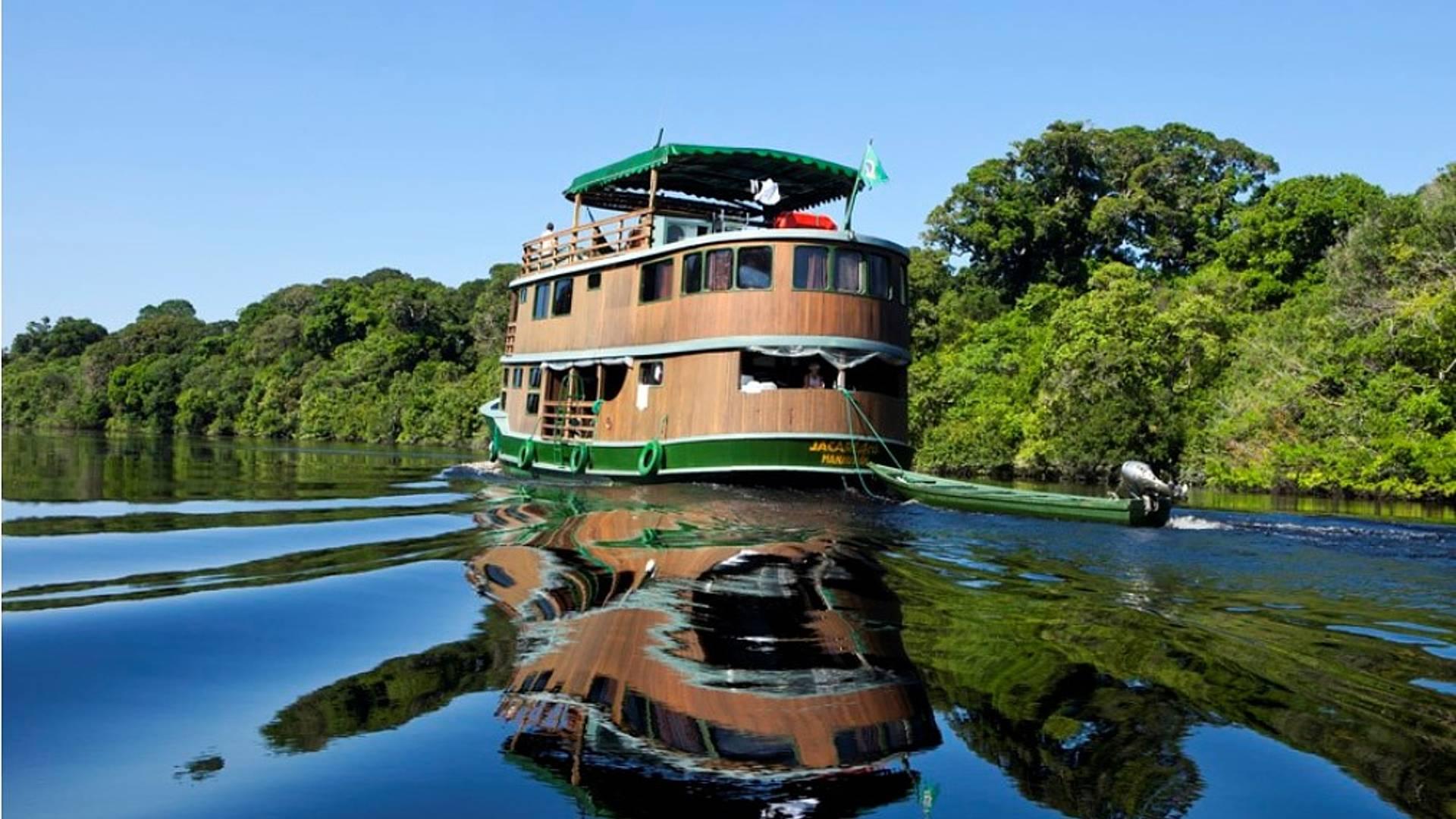 Navigando sul Rio Juaperi : l'Amazzonia come non l'avete mai vista