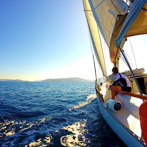 Odyssée en voilier dans les îles Grecques -