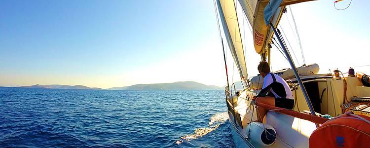 Odyssée en voilier dans les îles Grecques