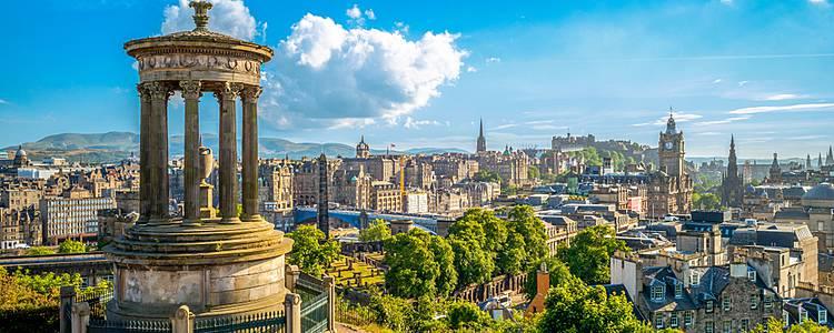 Edinburgh und die Schätze der Natur mit privatem Guide