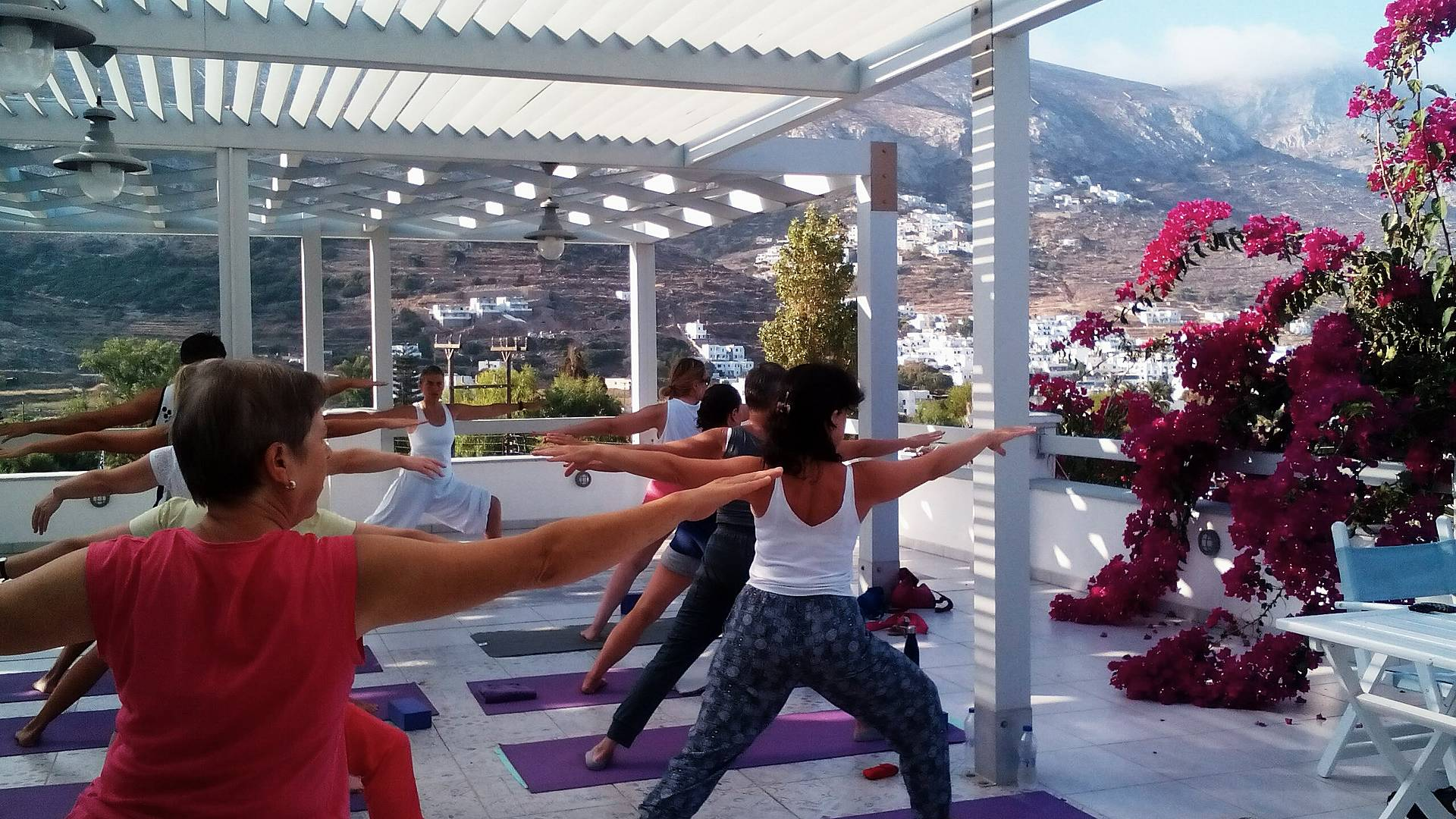 Yoga, méditation et nature sur les îles grecques