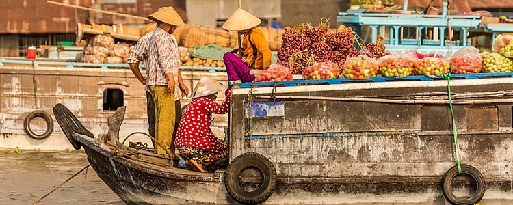 Mekong Delta und Erholung am Strand