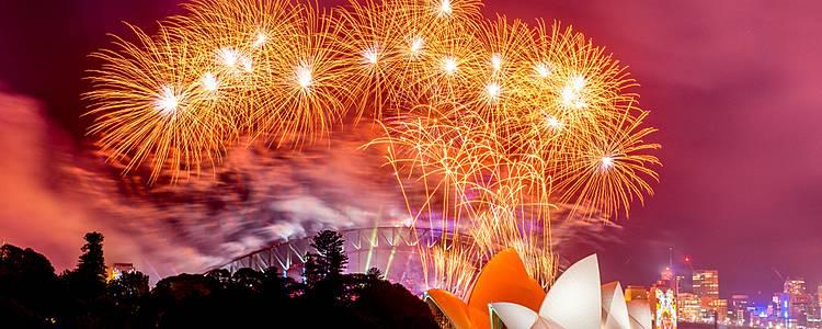 New Year's Celebration in Sydney