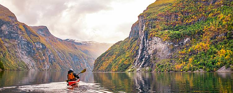 Fjords by kayak