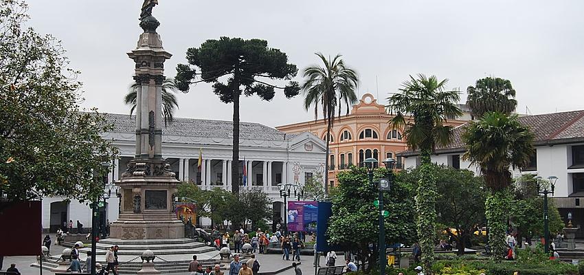 Le centre de Quito est sûr en journée