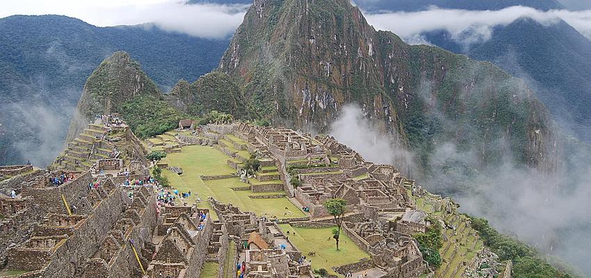 Le Machu Picchu, le site le plus touristique du Pérou