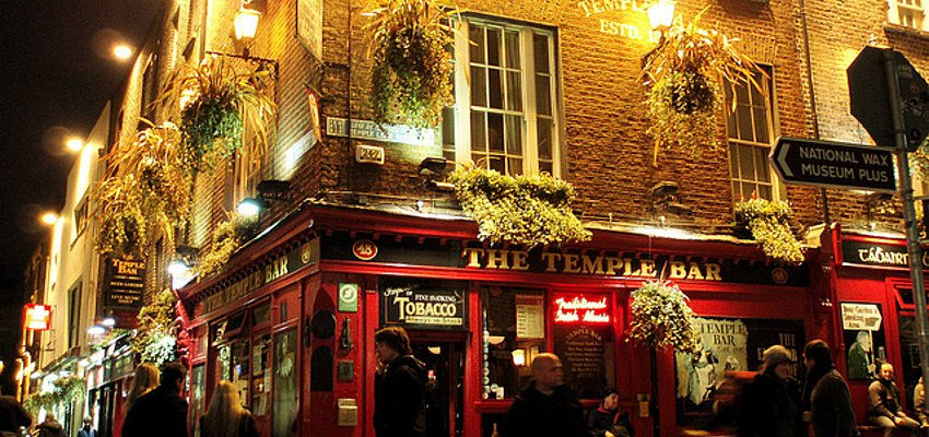 Temple Bar, le quartier festif de Dublin