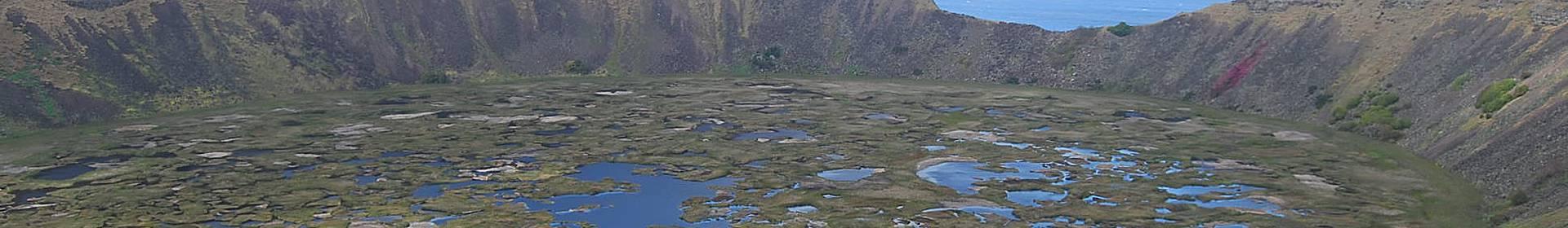 Volcán Rano Kau