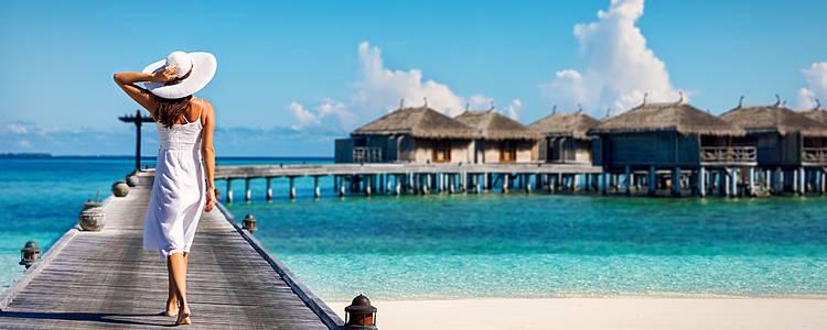 Romance entre India y Maldivas