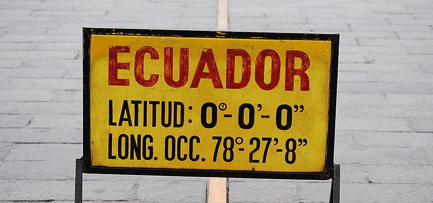 La línea del ecuador atrae a un gran número de turistas