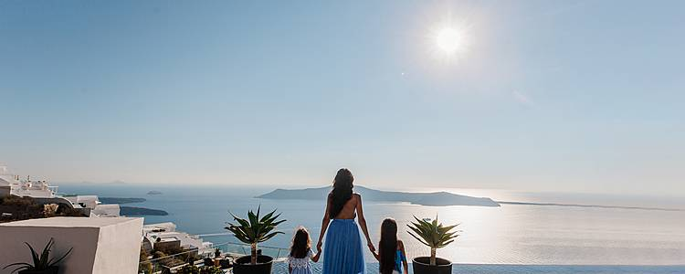 Family adventure to ancient Greece